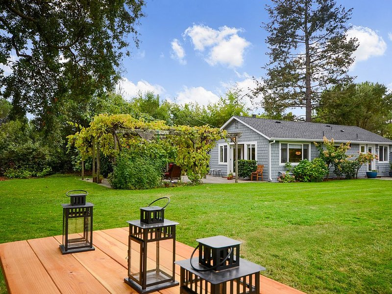 Private Sonoma Country Cottage, vakantiewoning in Vineburg