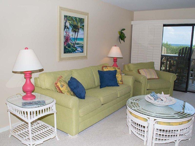 Living Area - Picture Description