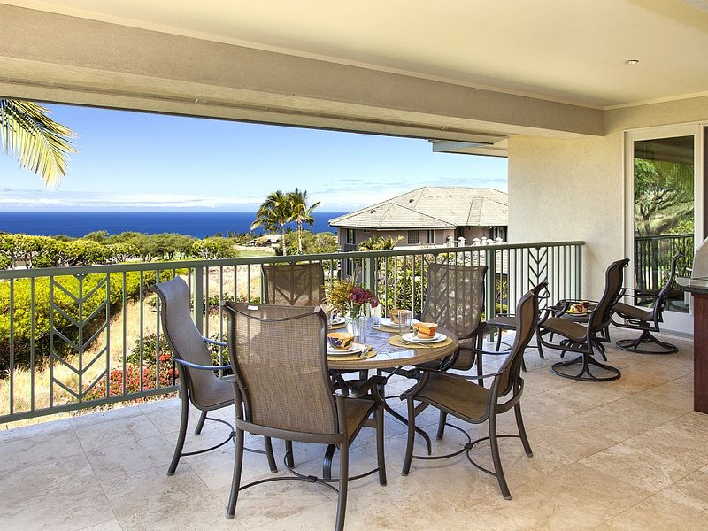 Beautiful Ocean Views! Booking for 2017 includes PLATINUM GOLF RATES &  DVR, alquiler vacacional en Kawaihae