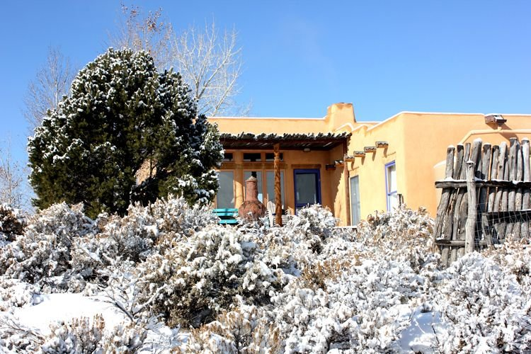 A winter wonderland on 2.5 acres with hundreds of acres uninterrupted views