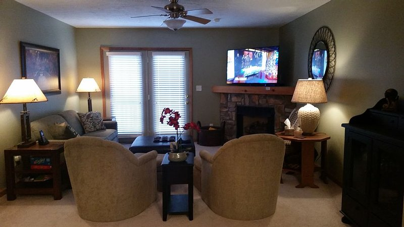 Awesome Multi family home located in Creekside Villa's near Silvercreek ski area, vacation rental in Snowshoe