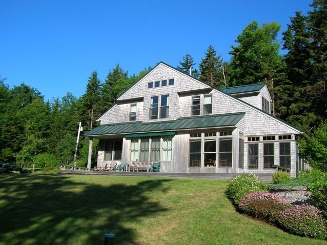 Maine Oceanfront Home, holiday rental in Orrs Island