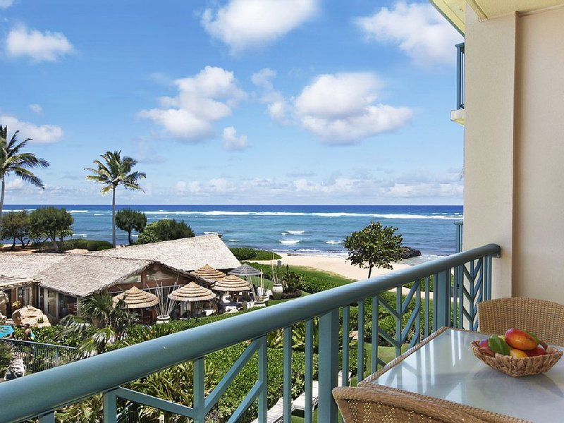 H304  **PRIME OCEAN VIEW **Perfect trade wind** FAST WiFi!**, alquiler de vacaciones en Kapaa