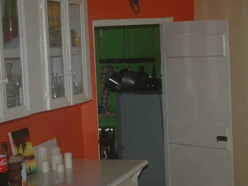 Interior on way to kitchen