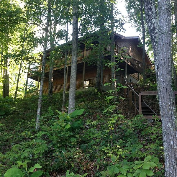 Log Cabin/Horse trails/Hiking/Biking/Serenity And Much More! – semesterbostad i Huntsville