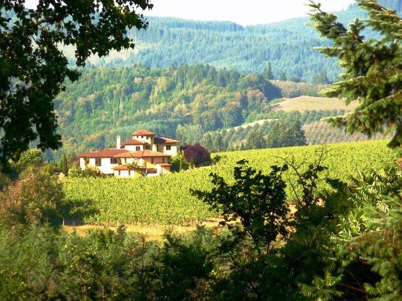 Casi Cielo: Tuscan Elegance And Willamette Valley Pinot Noir, aluguéis de temporada em North Plains