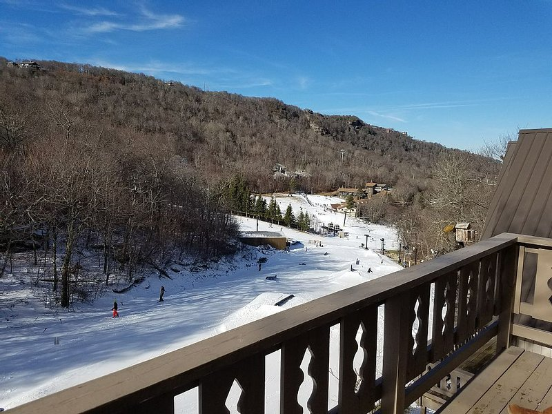 Ski Chalet Condo on Beech Mountain Resort's SNOWBOARD TERRAIN PARK!, holiday rental in Beech Mountain