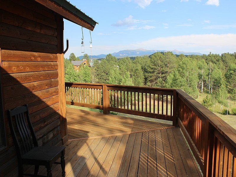 View of deck on cabin.