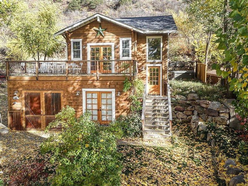 Hot Tub/AC - Downtown Durango, New Custom Home, The Treehouse, holiday rental in Durango