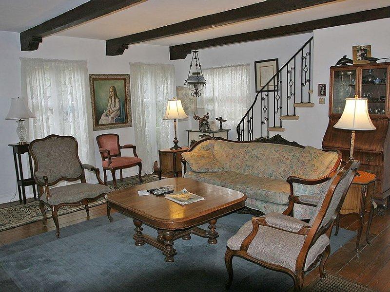 La salle de séjour est un excellent endroit pour se réunir, jouer à des jeux, se détendre et vous amuser.