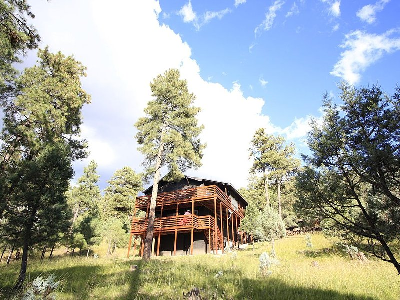 SIERRA BLANCA VIEWS INSIDE AND OUT! 3Bed/3B, vacation rental in Ruidoso