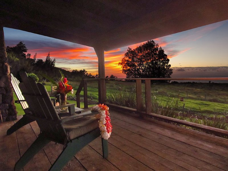 WORK & PLAY * Kohala Lodge * Exceeded our Expectations !  Quality Life-style, vacation rental in Hawi
