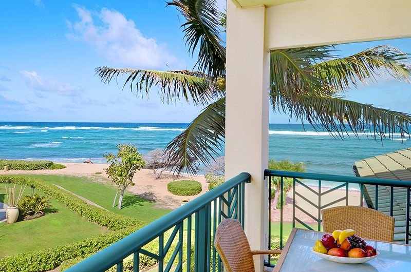OCEAN Bliss** H302 is ONE of THE BEST BEACH view suits at Waipouli, vacation rental in Kapaa