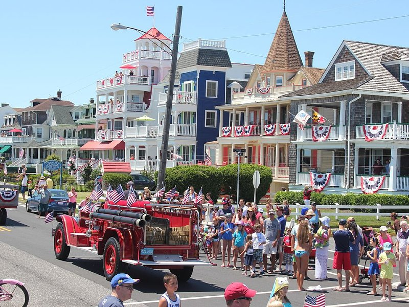 Cape May's famous 4th of July Parade!