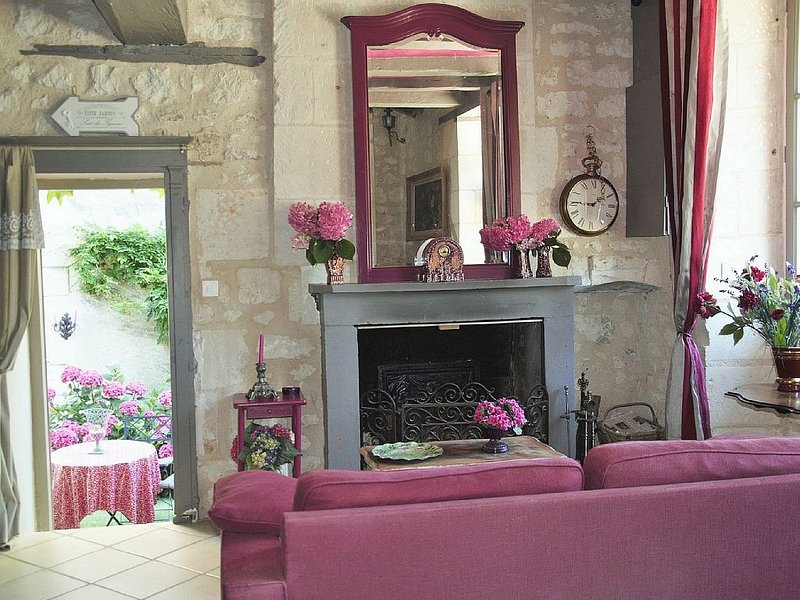 Charming house in the countryside sleeps 2/3 between Touraine and Poitou, vacation rental in Vienne