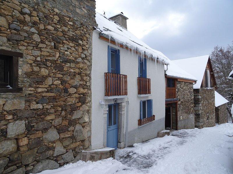 House in small mountain village near Peyragudes / Superbagneres / Luchon, alquiler de vacaciones en Billiere