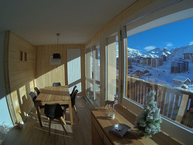 Appartement 3 chambres 6 pers Tignes le Lac wifi gratuit, holiday rental in Tignes