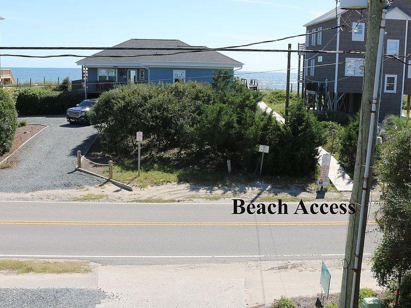Beach Access just steps away.