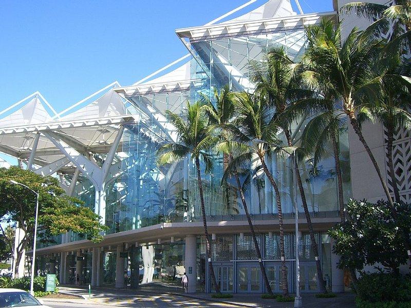 Hawaii Convention Center a 15-20 minute walk