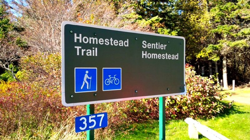 National park scenic trails for you to enjoy.