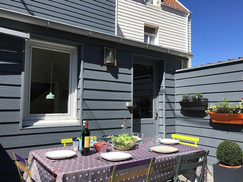 Villa Wimereusienne Calme, à 400m de la plage /Jardin/120m2 /6 pers Wim'Charmes, alquiler vacacional en Wimereux