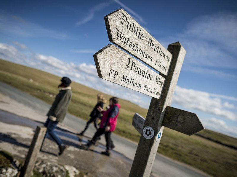 The way to Malham Tarn (photo (courtesy Jim Varney)