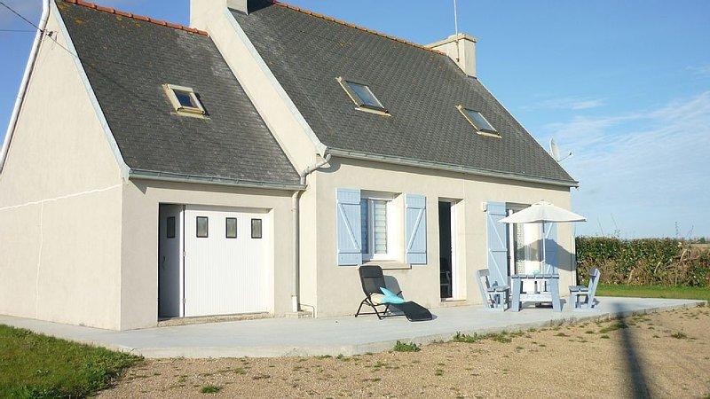 pretty little house in the countryside, near the sea, sea, ranked 3 Etoil, location de vacances à Plozévet