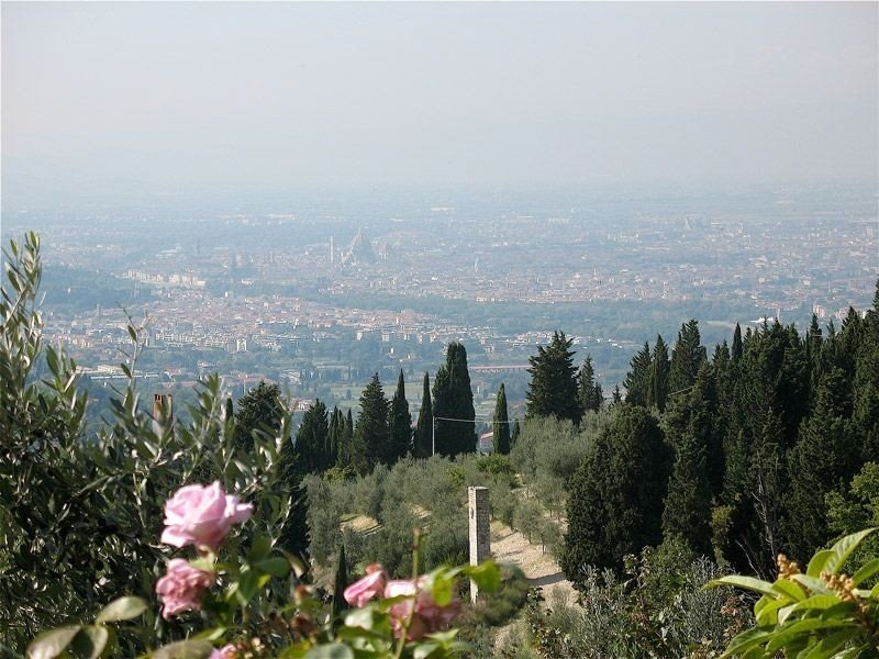 Perched on a hill overlooking Florence. Absolute peace and quiet., location de vacances à Bagno a Ripoli