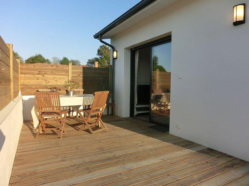 Seignosse villa patio 4 pers. en duplex, alquiler de vacaciones en Landes