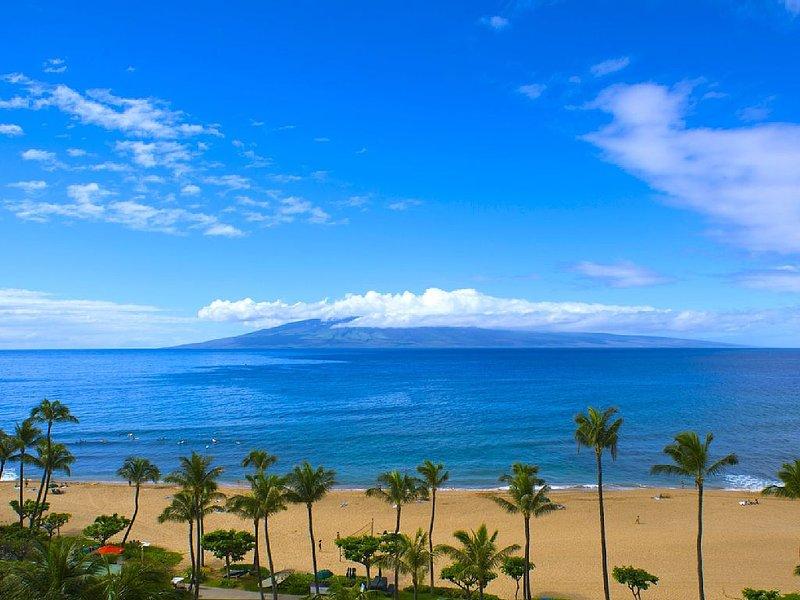 Maui Resort Rentals: Marriott's Maui Ocean Club 2 Bedroom Oceanfront Villa, holiday rental in Lanai