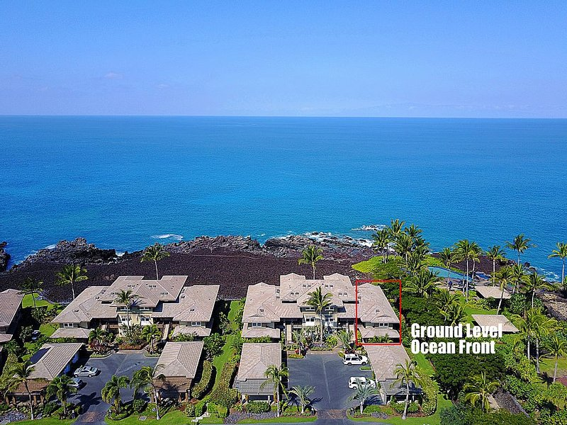 Ocean Front 3 Bedroom at Hali'i Kai  Best Location in Resort, alquiler de vacaciones en Waikoloa