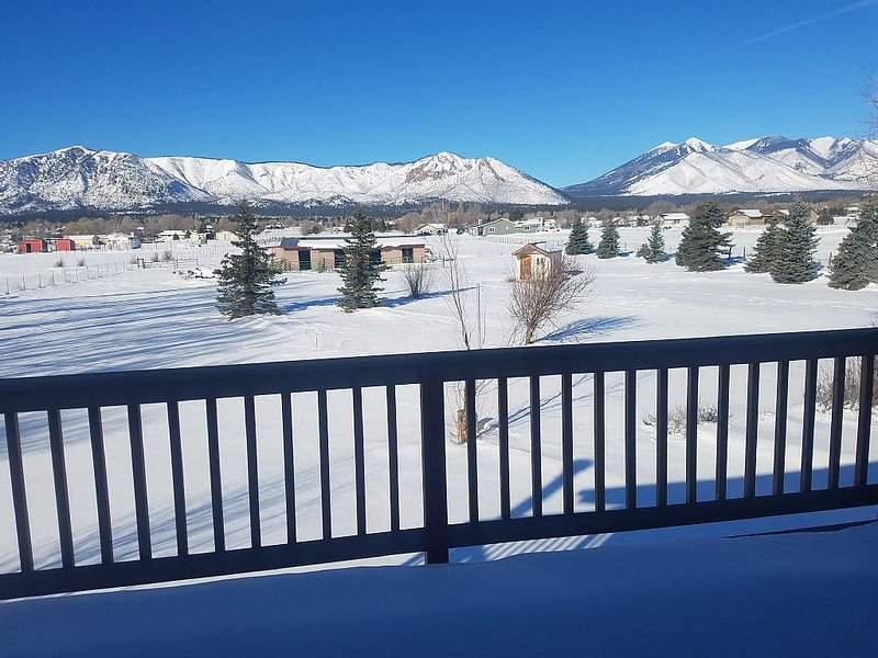 Spacious yet cozy home on 2.5 acres- Amazing views, amenities & lots of  extras, vacation rental in Flagstaff