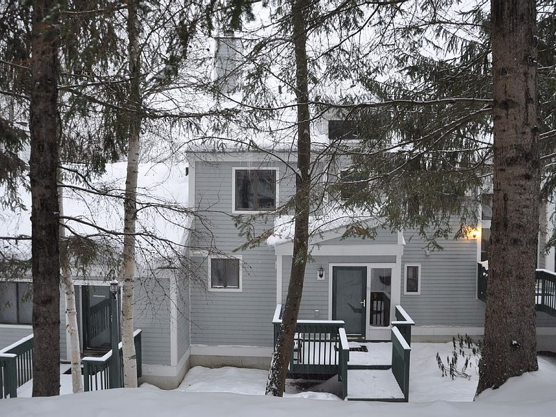 OKEMO Trailside Ski Condo, Walk to Sachem Trail, Sleeps 8 – semesterbostad i Ludlow