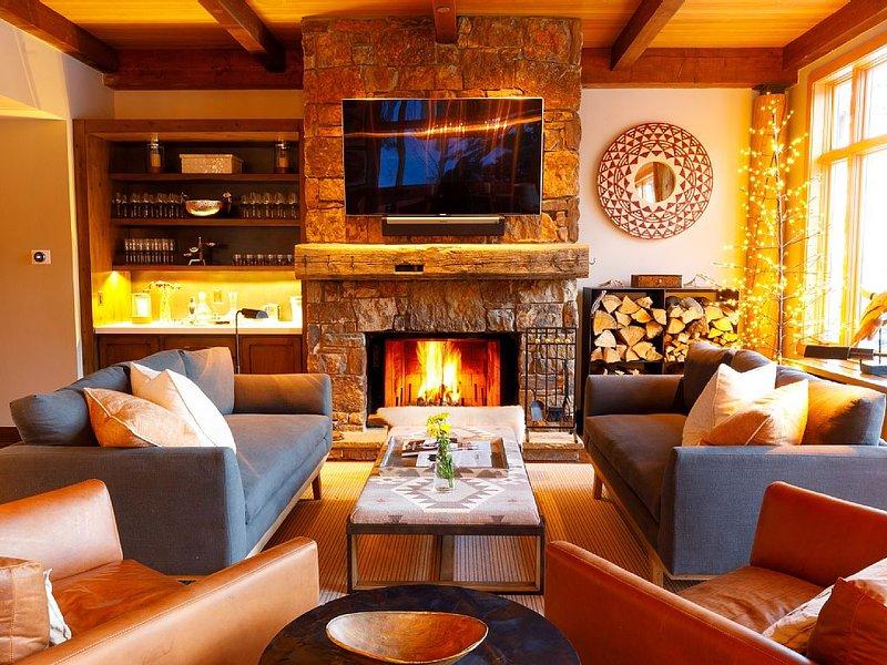 5 Bed/5.5 Bath Ski-in Ski-out Lodge on Granite Ridge, casa vacanza a Jackson Hole
