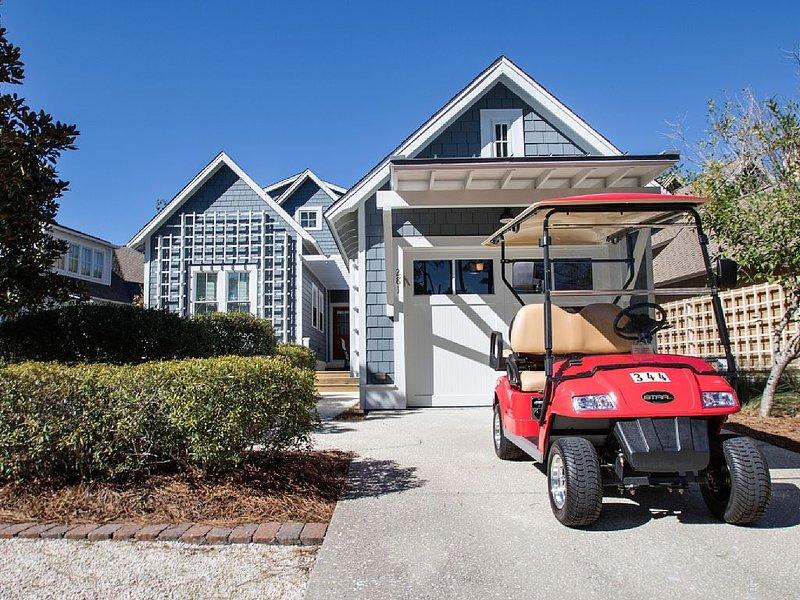Golf Cart Provided! 300 Yds to the Beach! Screened Porch!, casa vacanza a Alys Beach