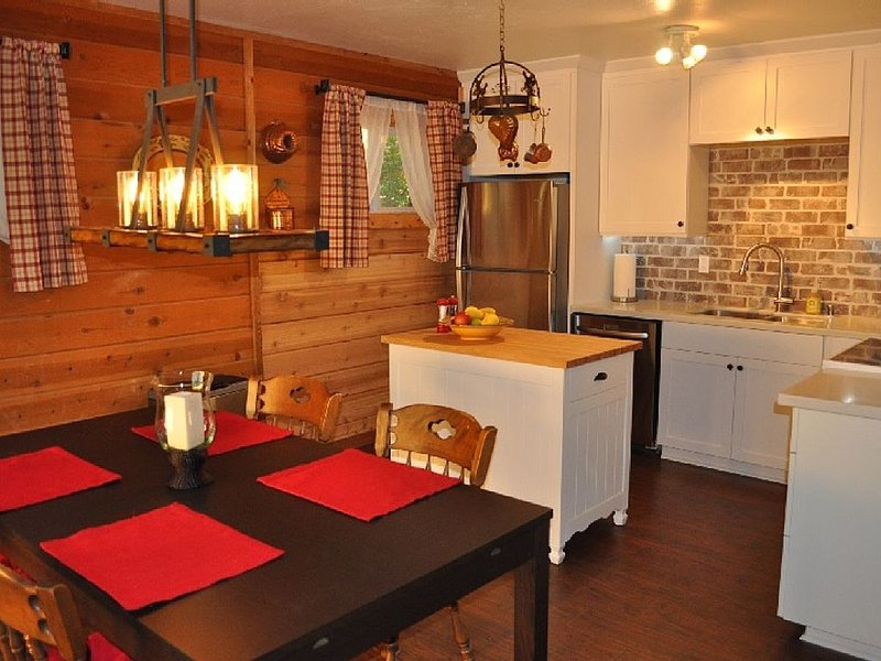 Cozy Tahoe Cabin with Rustic Elegance and Modern Comfort in Fantastic Location, vacation rental in South Lake Tahoe