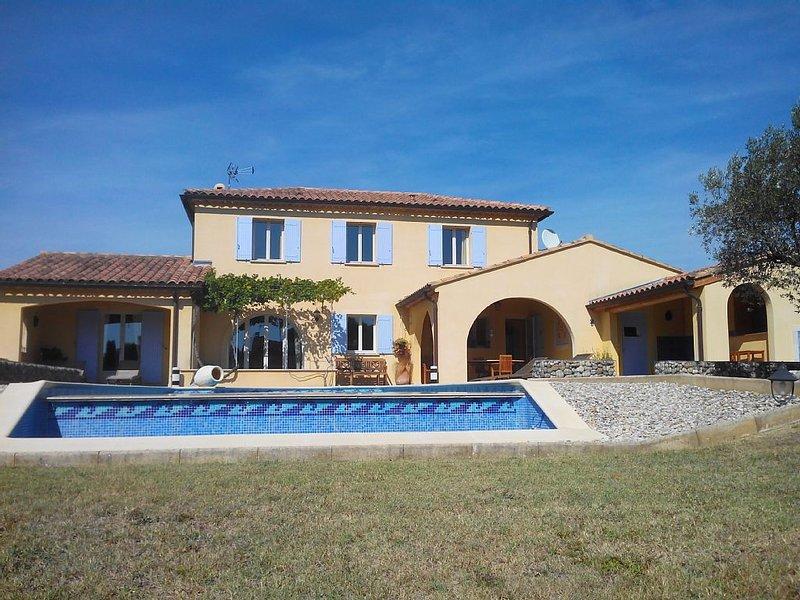 VILLA PENARD VAISON LA ROMAINE, holiday rental in Villedieu