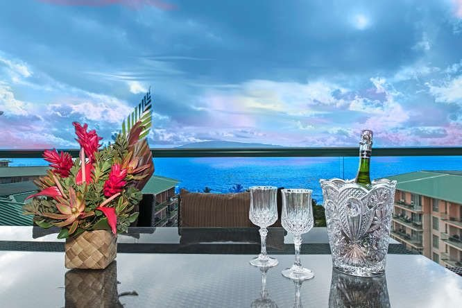 Hk's Finest ~ Ocean View Penthouse 1025K ~ SPECIALS ~ Mar $799 April $799, vacation rental in Lahaina