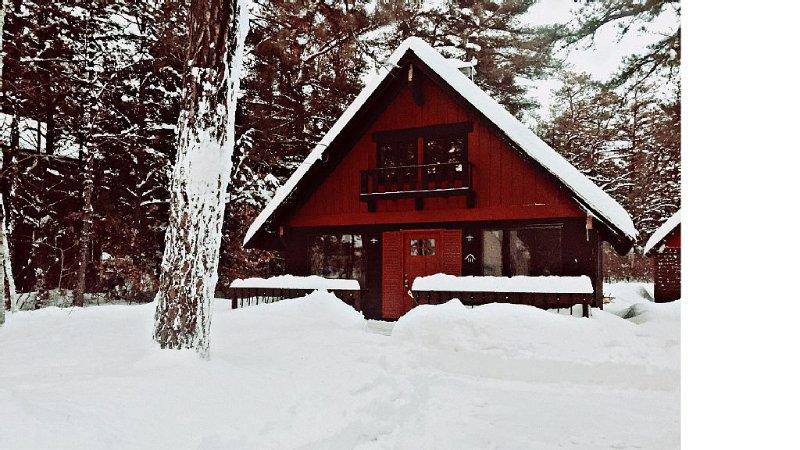 Warm up in der gemütlichen Kabine
