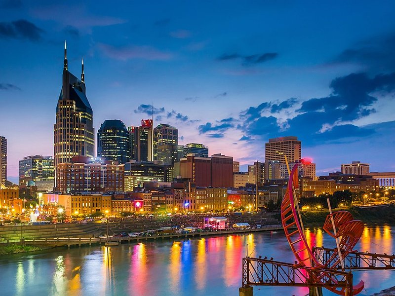 Only minutes from downtown Nashville!