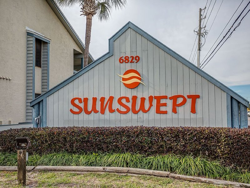 We are located in the well maintained and family oriented Sunwept Condominiums.