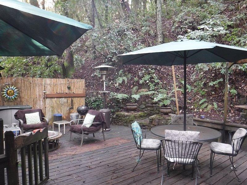 Redwood Mountain Hideaway in Felton Near Lake + Santa Cruz, alquiler de vacaciones en Ben Lomond