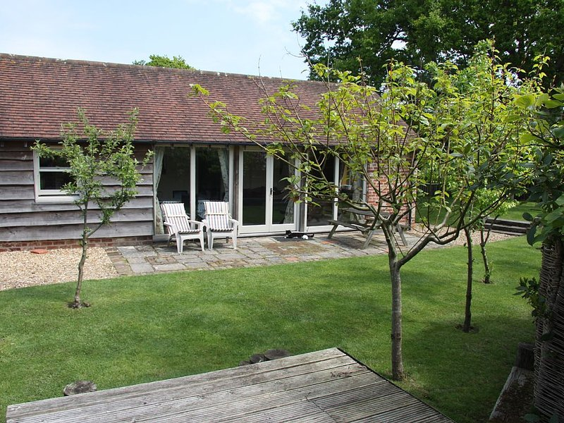 The Old Piggery and private south/west facing garden