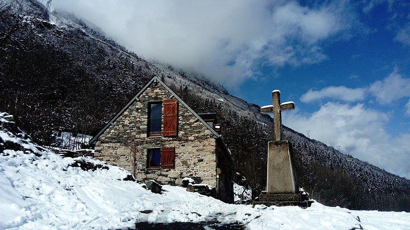 Pyrenees Paradis, fun barn charm, location de vacances à Hautes-Pyrenees