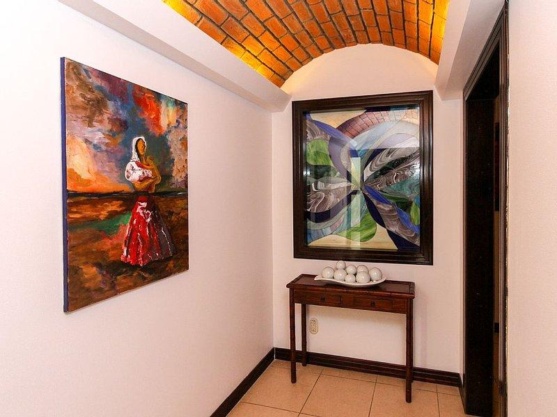 Private entry hall into your condo