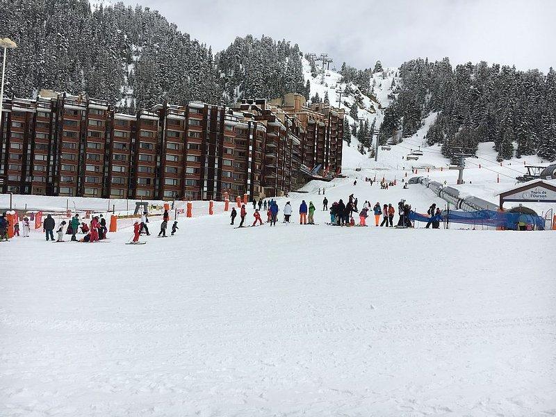 Ski in / Ski out family ski apartment, alquiler de vacaciones en Plagne Bellecote