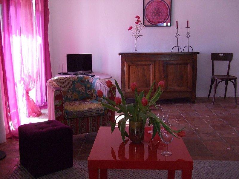 En plein coeur du village, confort et naturel - Vallon Pont d Arc - 5 personnes, holiday rental in Lagorce