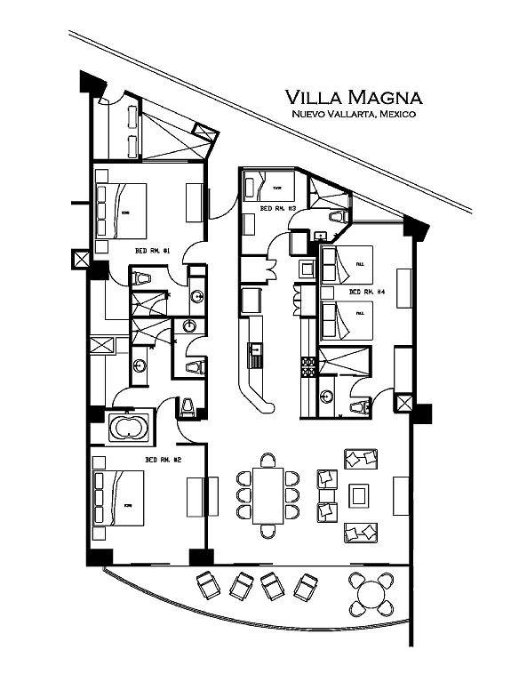 Spacious 2312 SF. 4 bedrooms, 4 bathroom.