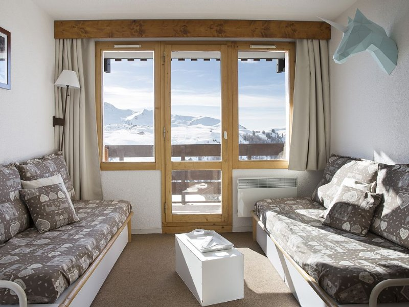 Belle Plagne, T2 renovated 3 crystals for 5 people, skis, vacation rental in Belle Plagne