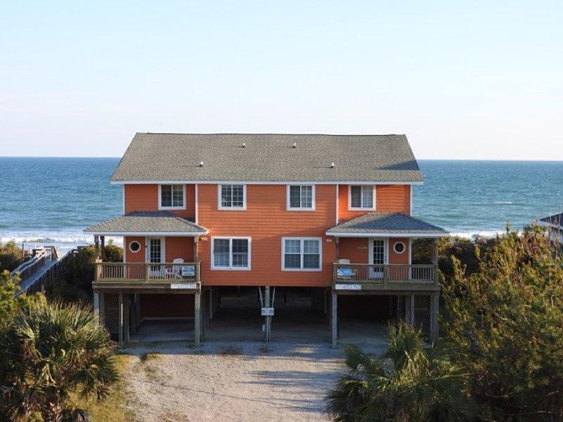 Beautiful Emerald Isle Oceanfront 5 Bedroom Duplex: 'Changes In Attitudes', vacation rental in Emerald Isle